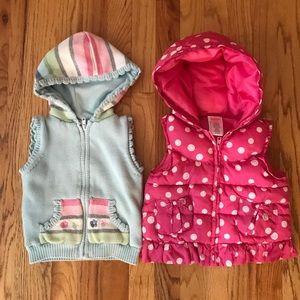 Gymboree 2T-3T vests bundles